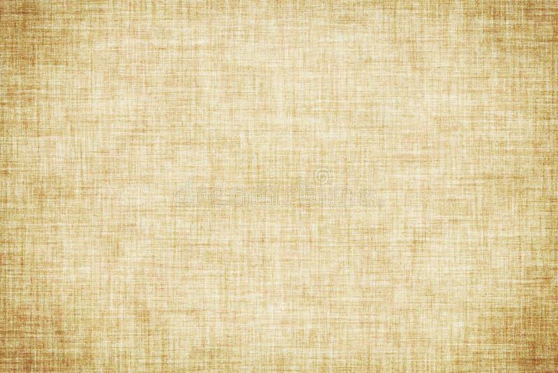 Fond de toile coloré beige naturel de toile de texture ou de cru illustration libre de droits