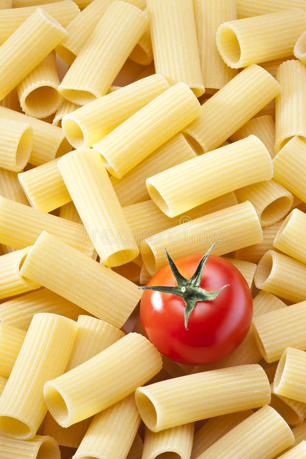 Fond de tomate de pâtes photos stock