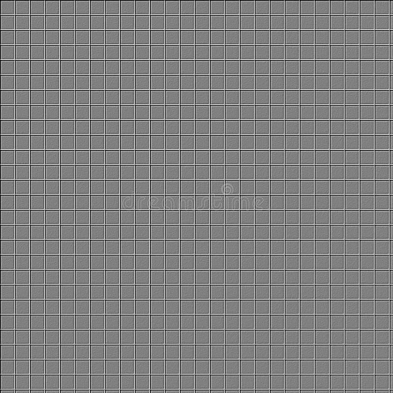 Fond de trellis de Grey Cement illustration stock