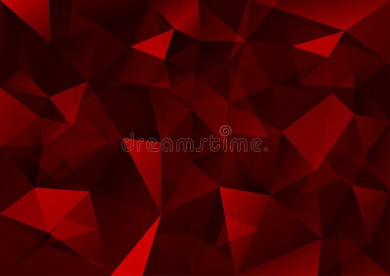 Fond de triangles illustration stock