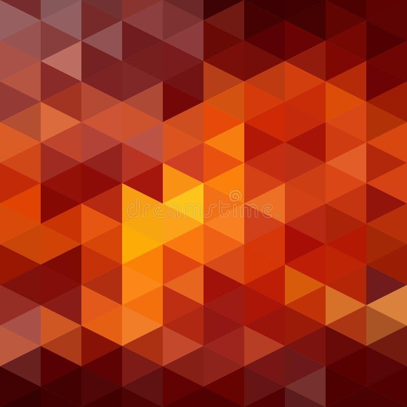 Fond de triangles illustration libre de droits