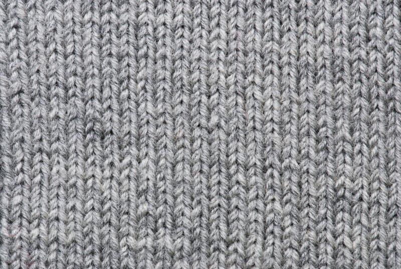 Fond de tricotage gris photo libre de droits