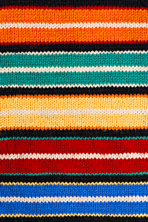 Fond de tricotage multicolore photo libre de droits