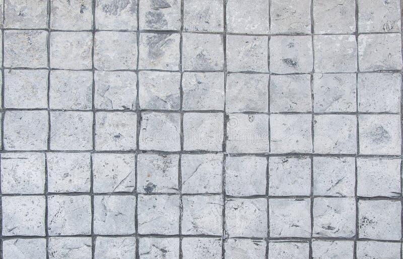 Fond de trottoir de brique de pierre de pavé de granit photo libre de droits