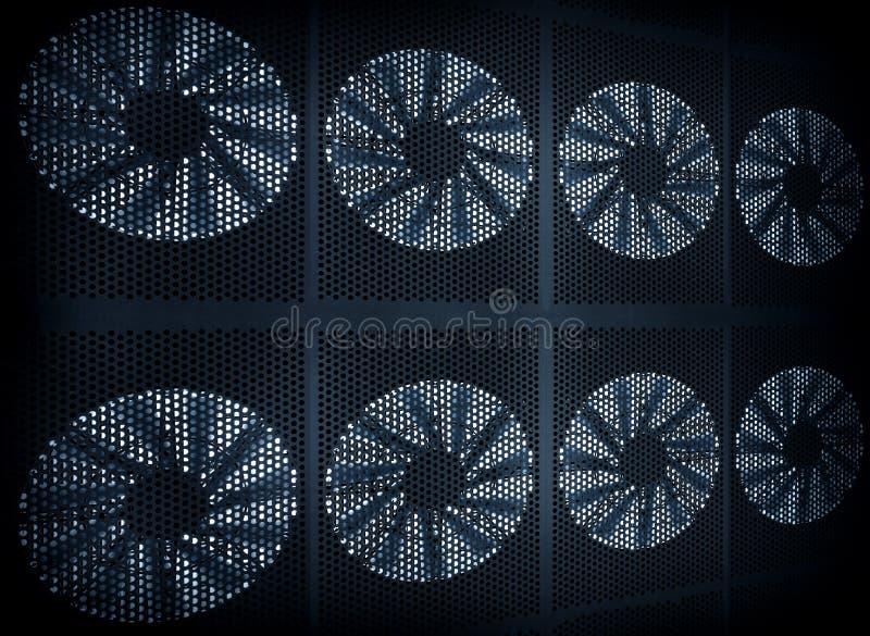 Fond de turbine de ventilateur image stock