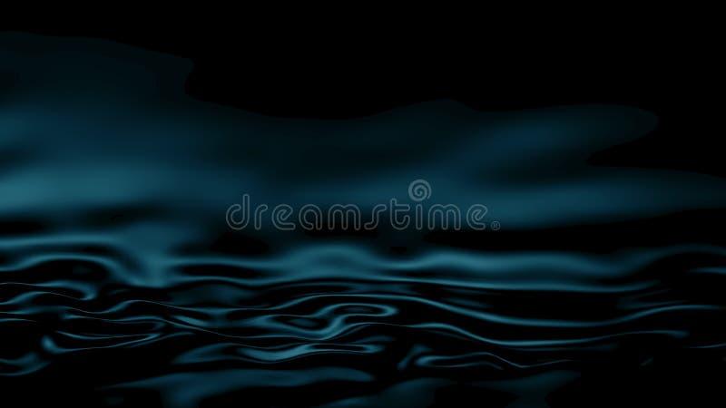 fond de turquoise d'abrégé sur l'illustration 3D illustration libre de droits