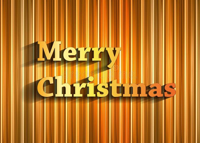 Fond de typographie de Noël illustration libre de droits