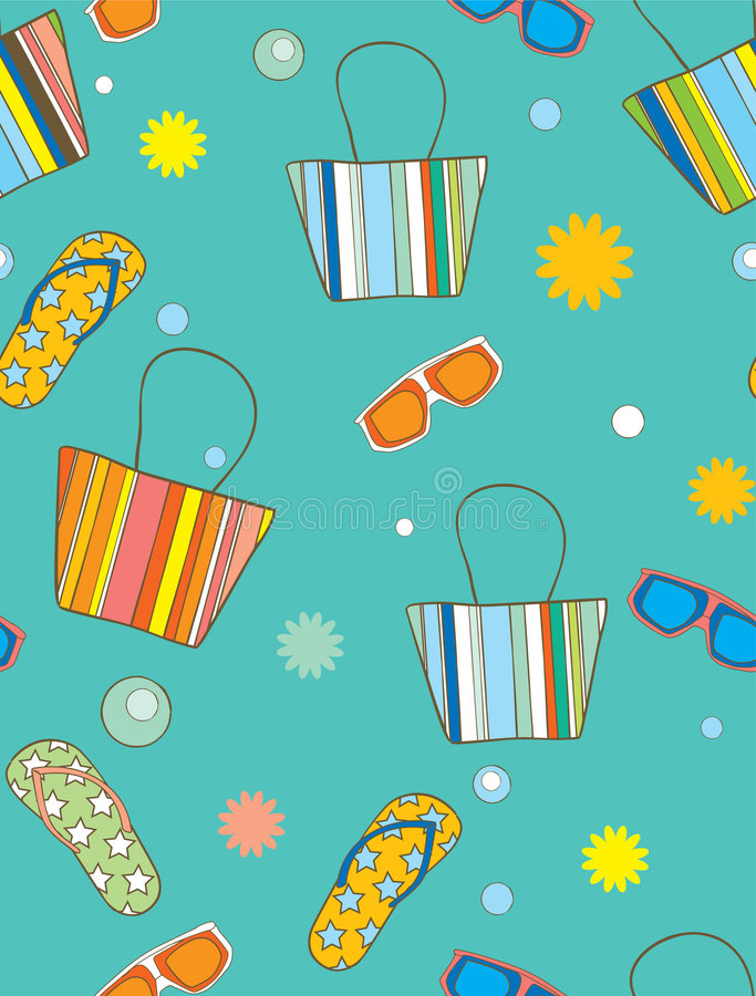 Fond de vacances illustration stock