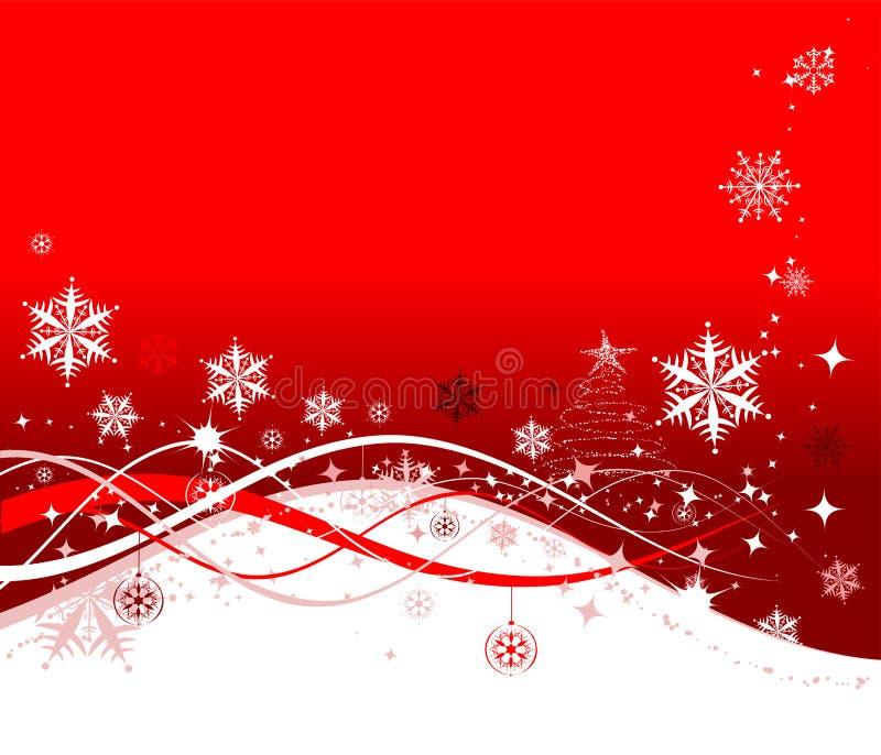 Fond de vacances de Noël illustration libre de droits