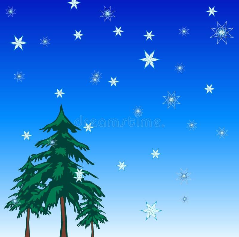Fond de vacances de Noël illustration de vecteur