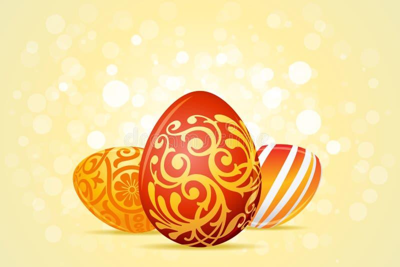 Fond de vacances de Pâques illustration de vecteur