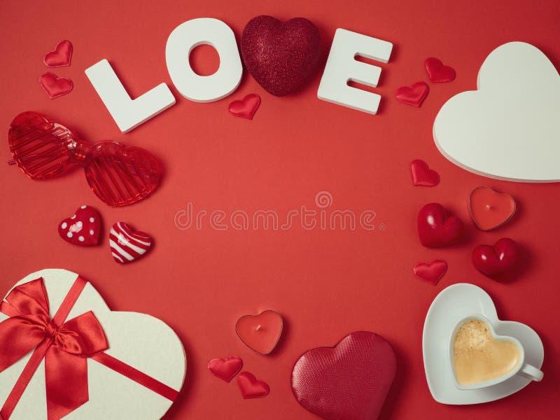 Fond de vacances de jour du ` s de Valentine images libres de droits