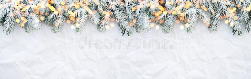 Fond de vacances de Noël et de nouvelle année Carte de voeux de Noël Vacances d'hiver photographie stock