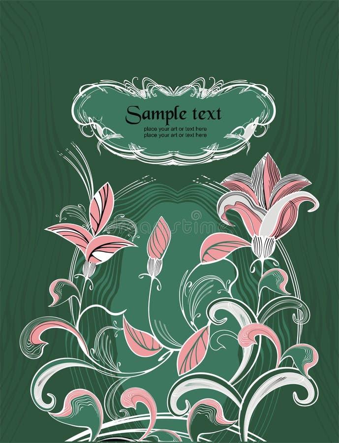 Fond de vacances prêt à placer votre art ou texte illustration stock