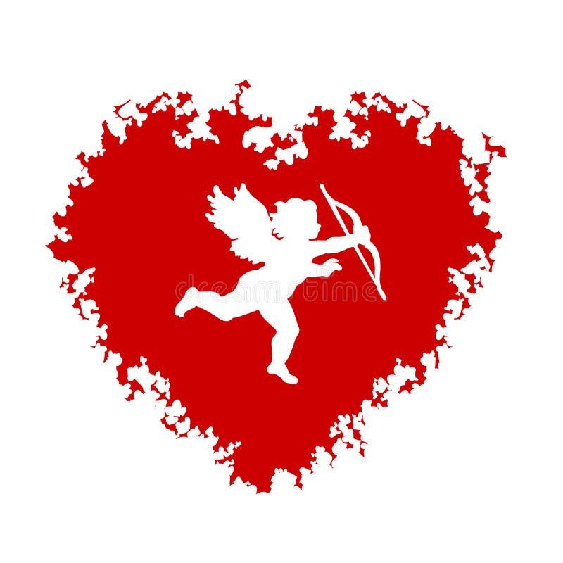 Fond de Valentines illustration libre de droits