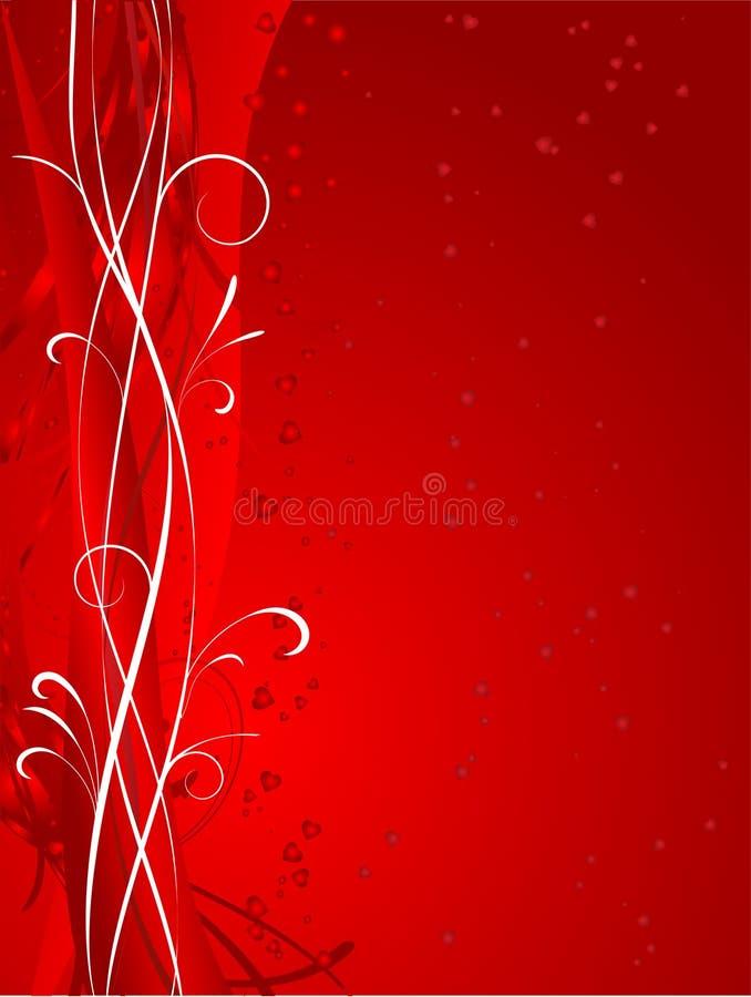 Fond de Valentines illustration stock