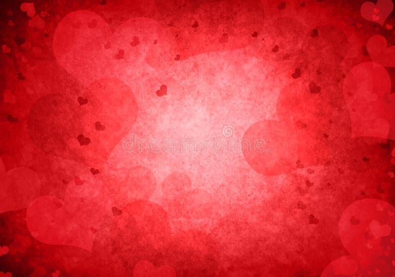 Fond de Valentines avec l'espace de copie illustration libre de droits