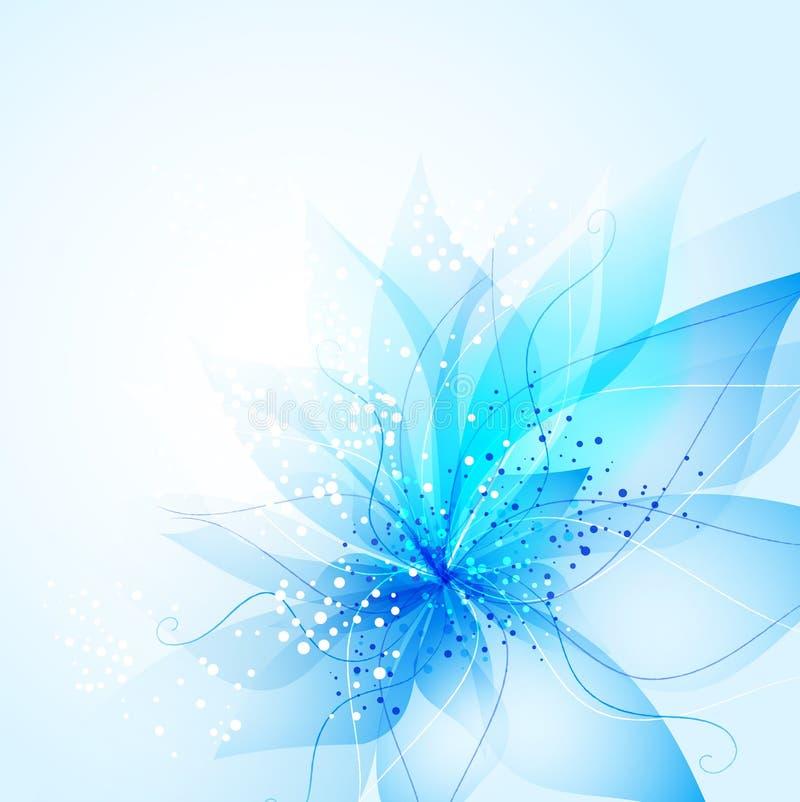 Fond de vecteur avec la fleur illustration de vecteur