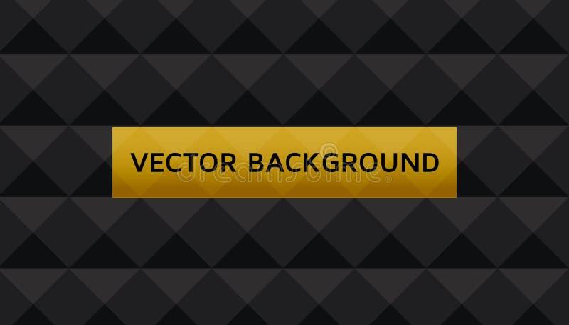 Fond de vecteur avec le modèle de diamant Illustration étonnante de vecteur Il sera employé pour la brochure, les insectes, l'aff illustration de vecteur