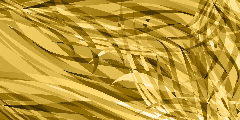 Fond de vecteur des lignes douces de blé illustration de vecteur
