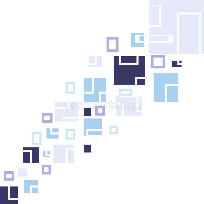 Fond de vecteur de places illustration de vecteur