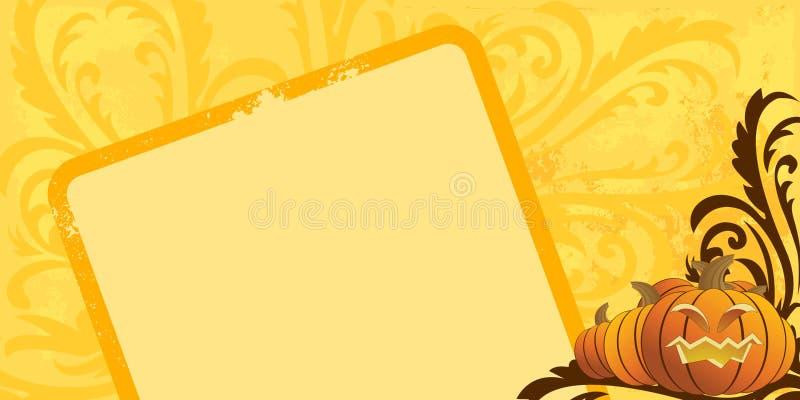 Fond de Veille de la toussaint illustration de vecteur