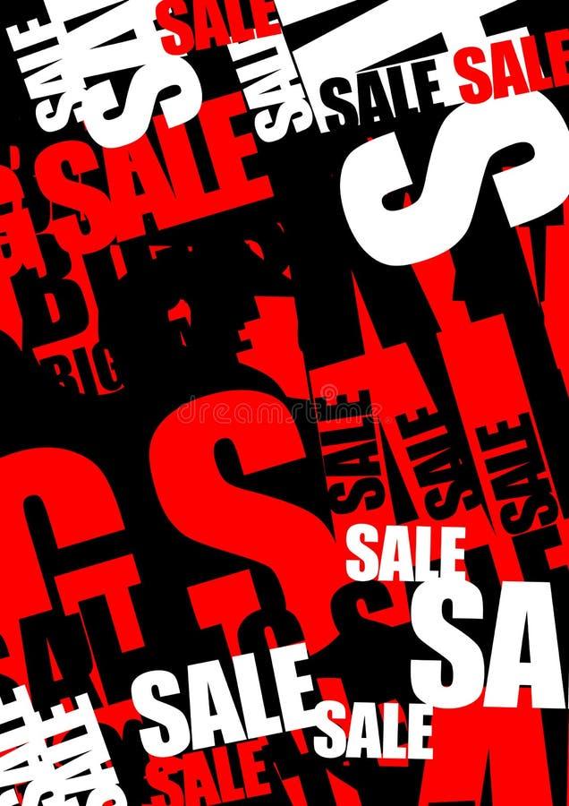 Fond de vente illustration stock
