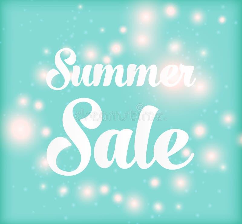 Fond de vente d'été images stock