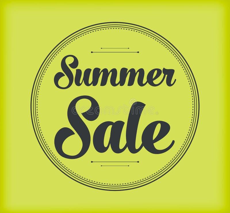Fond de vente d'été image stock