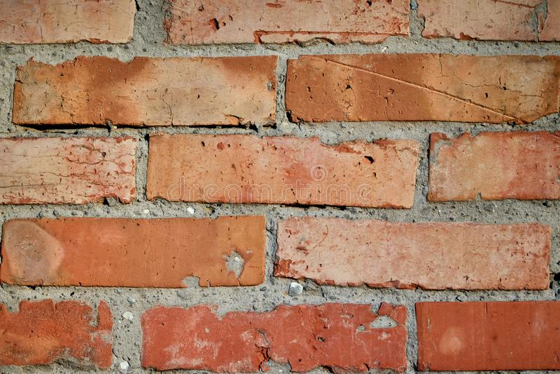 Fond de vieille texture de mur de maçonnerie de brique photo stock