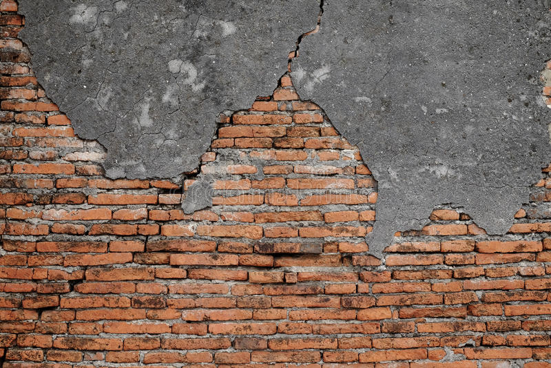 Fond de vieille texture rouge de mur de briques photographie stock