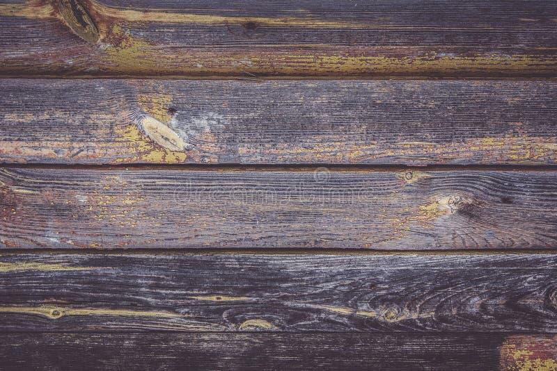 Fond de vieilles, foncées planches Texture grunge photos libres de droits