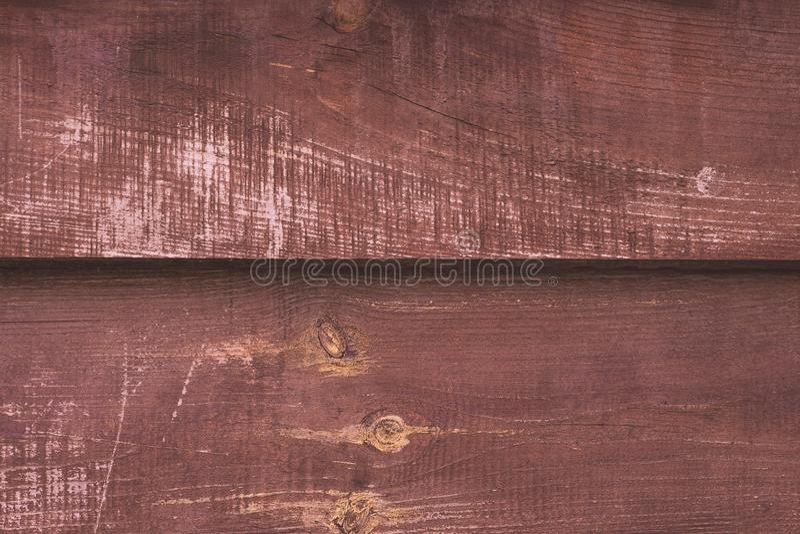 Fond de vieux conseil en bois minable Texture en bois de cru, table en bois rouge Mod?le rustique naturel Copiez le mur de l'espa images libres de droits
