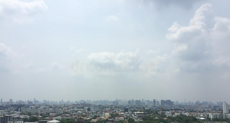 Fond de ville de Bangkok photos libres de droits