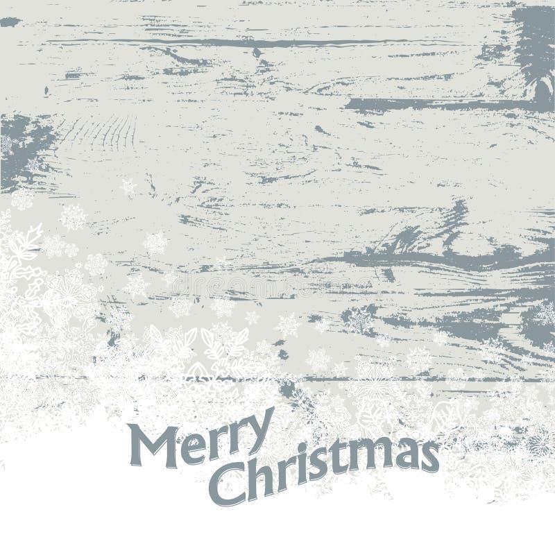 Fond de vintage de Noël. illustration libre de droits
