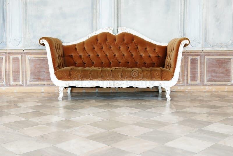 Fond de vintage de sofa photos stock