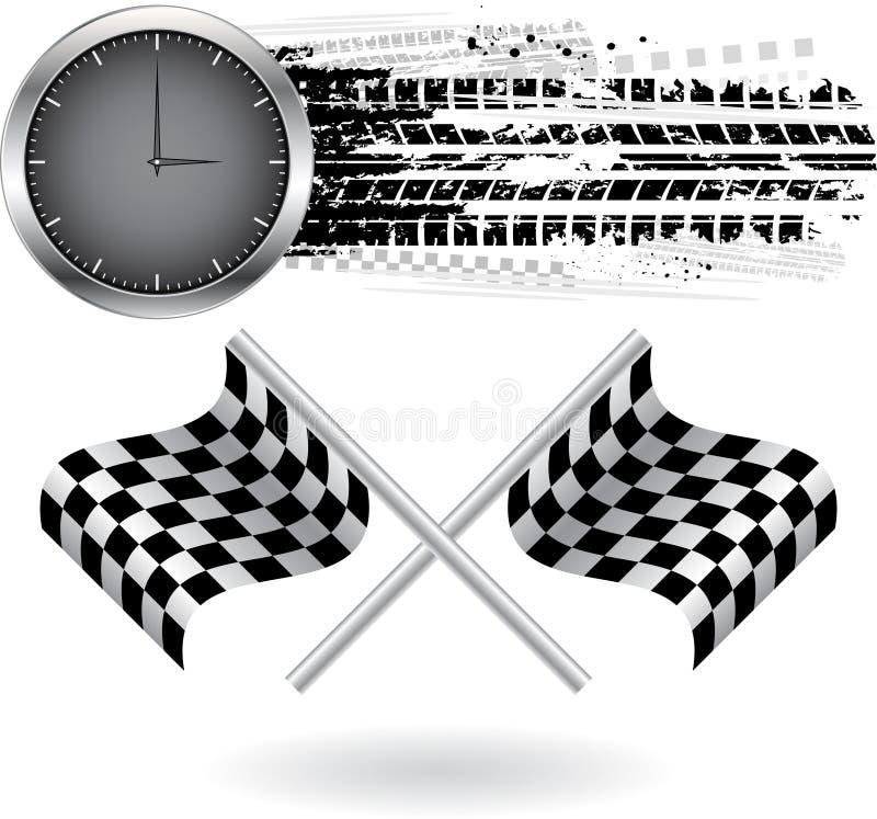 Fond de vitesse illustration stock
