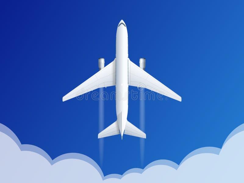 Fond de voyage et de tourisme Billets en ligne de achat ou de réservation Voyage, vols d'affaires dans le monde entier Vecteur pl illustration stock