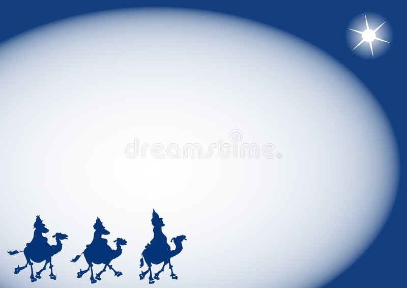 Fond de Wisemen illustration stock