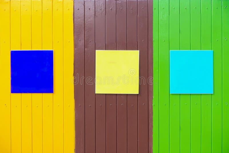 Fond de woodend de couleur images stock
