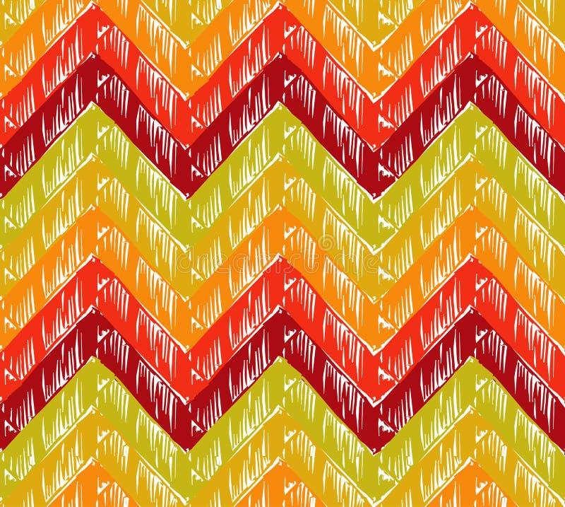Fond de zigzag illustration stock