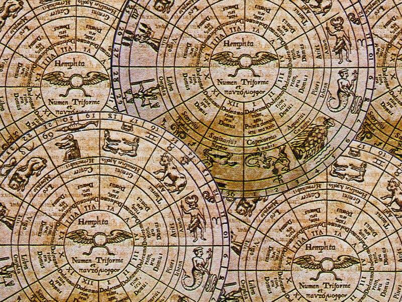 Fond de zodiaque photographie stock libre de droits