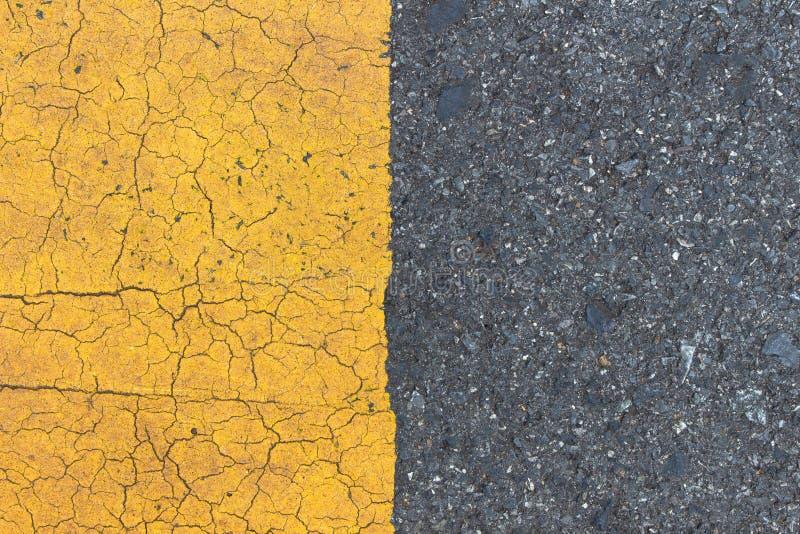 Fond des bandes noires jaunes  photographie stock