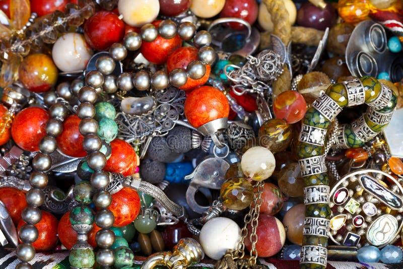 Fond des bijoux antiques photos stock