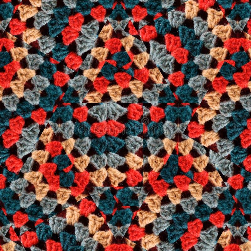 Fond des détails de crochet photos libres de droits