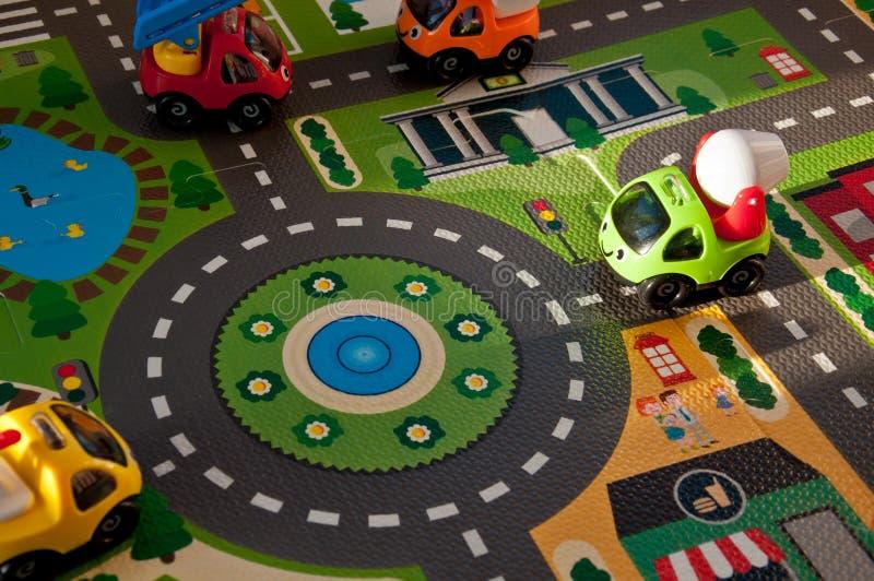 Fond des jouets pour enfants Jouets pour le développement des enfants en bas âge images stock