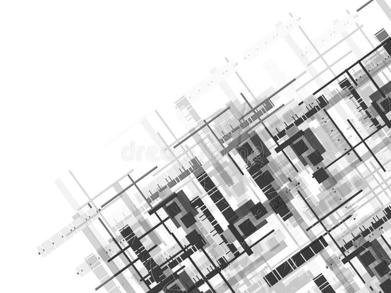 Fond des lignes illustration stock