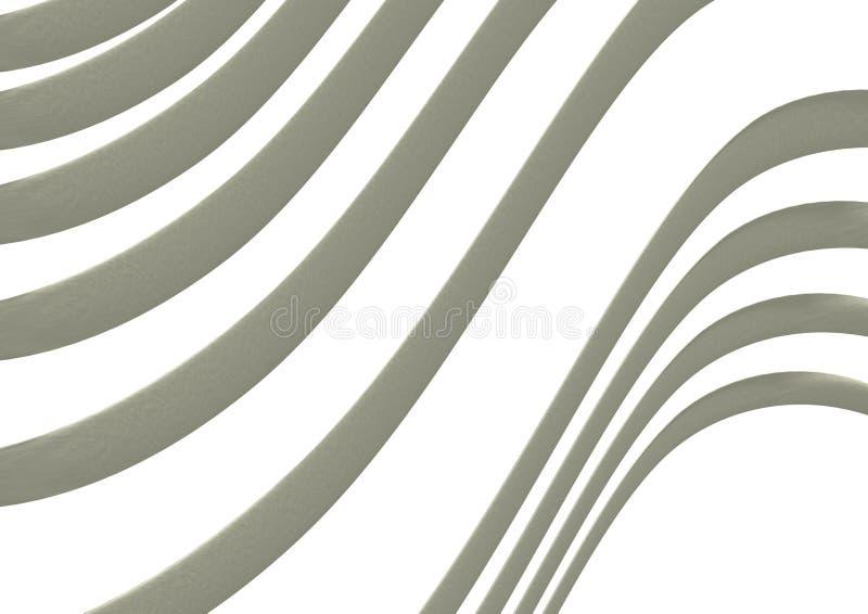 Fond des lignes ondulées illustration libre de droits