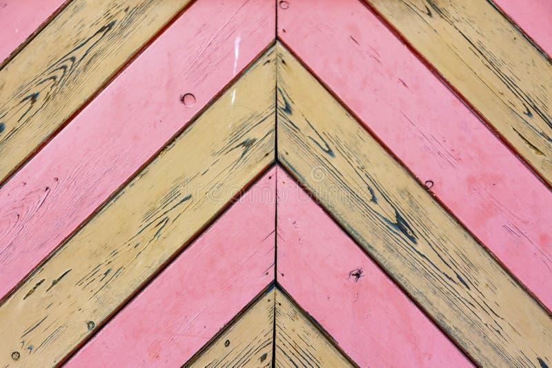 Fond des panneaux de couleur rose et naturelle photo libre de droits