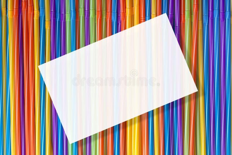 Fond des tubes color?s de cocktail photos libres de droits